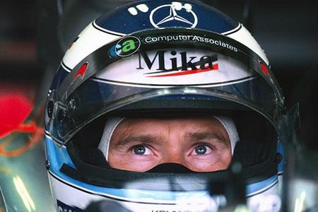 Legenda Formule 1 Mika Häkkinen